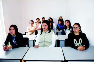 Etudiants classe